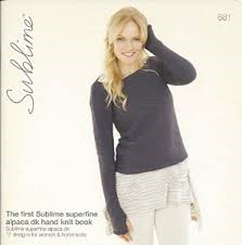 The First Sublime Superfine Alpaca DK Hand Knit Book 681
