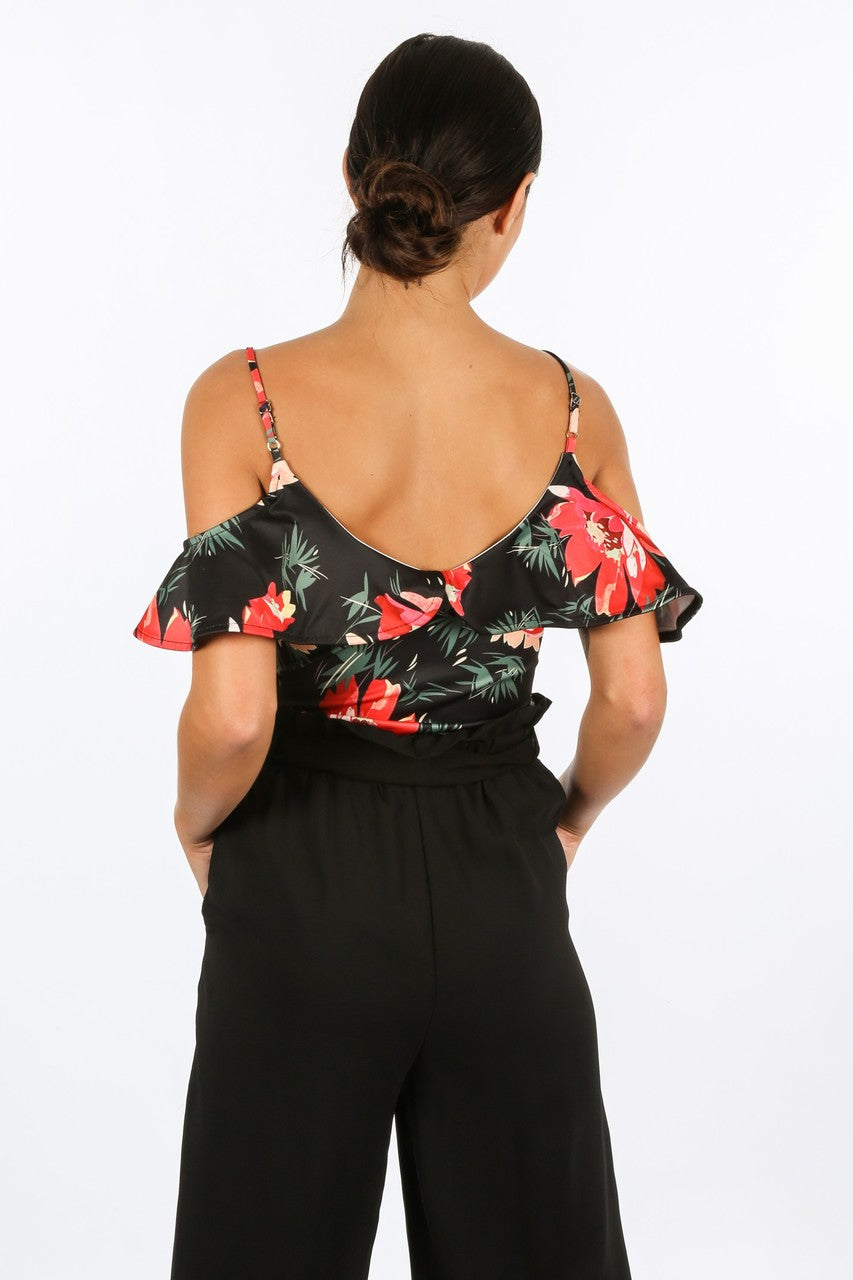 k/063/11508-1-_Tropical_Floral_Print_Bodysuit_In_Black-3__94052.jpg