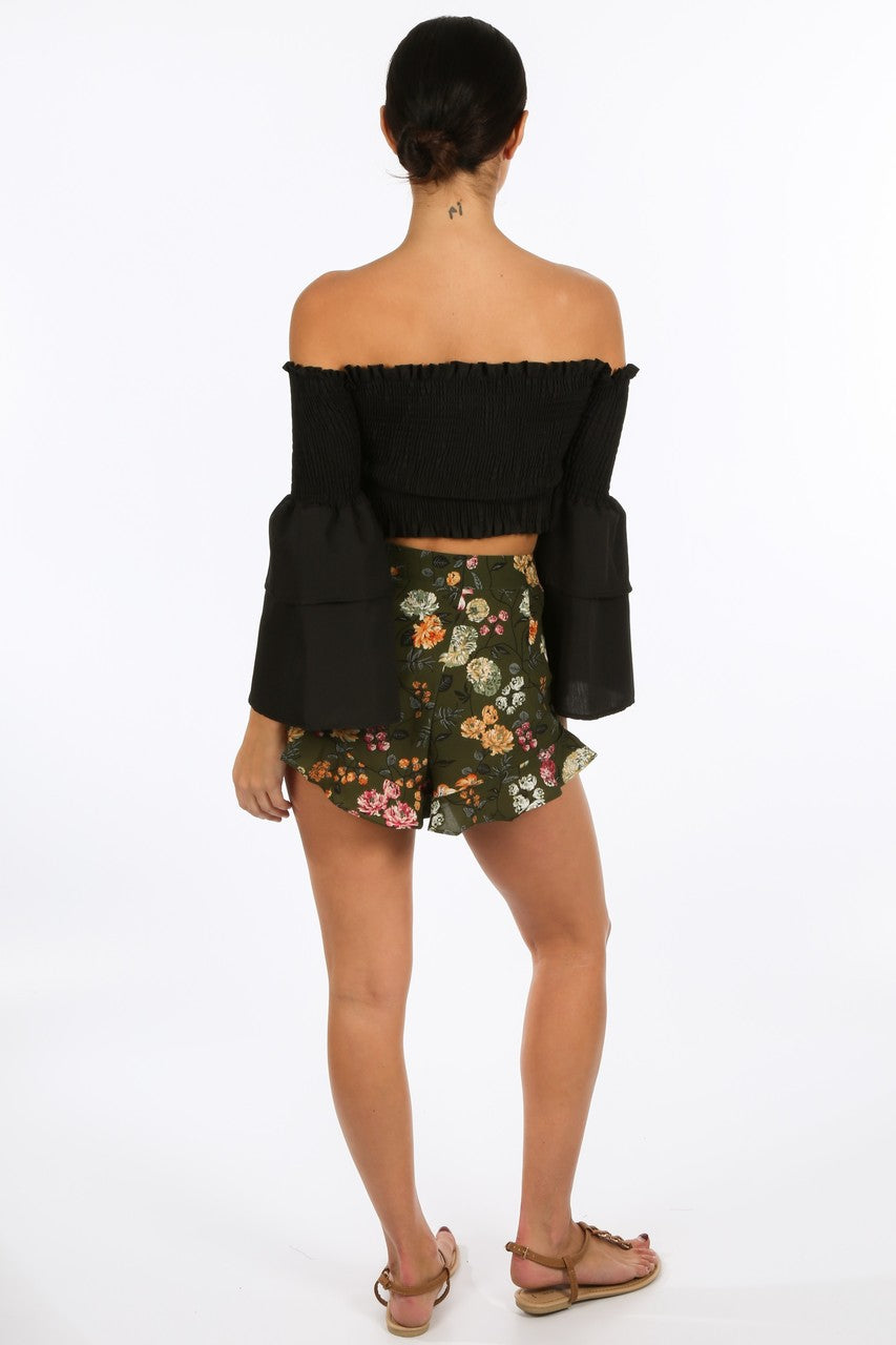 e/751/8098-_Black_Shirred_Bardot_Crop_Top_With_Bell_Sleeves-3__46975.jpg