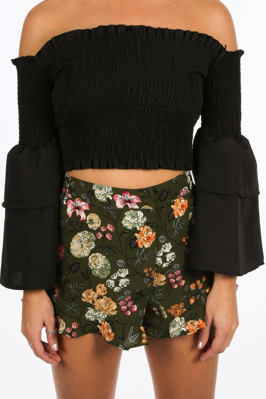 c/315/8098-_Black_Shirred_Bardot_Crop_Top_With_Bell_Sleeves-5__80405.jpg