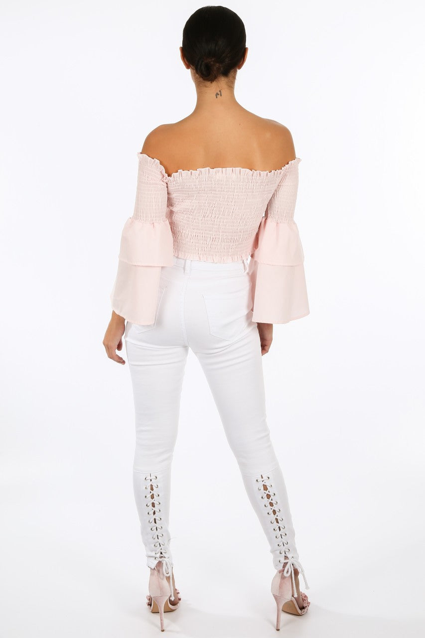 p/621/8098-_Pink_Shirred_Bardot_Crop_Top_With_Bell_Sleeves-4__13739.jpg