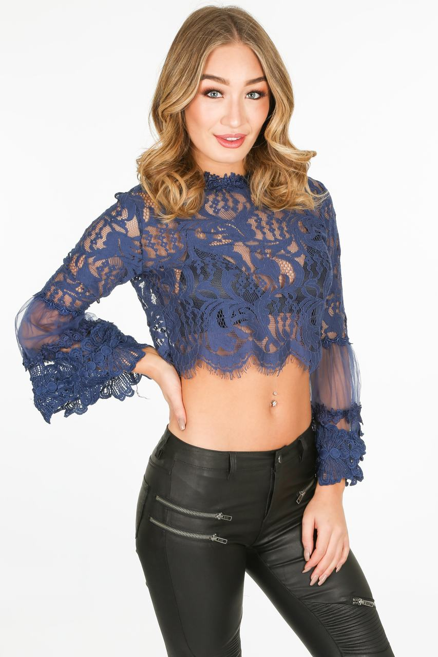f/792/CY033-_Lace_crop_top_in_Navy-2-min__90127.jpg