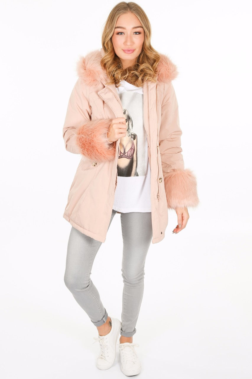 g/723/PK6016-_Fur_cuffed_parka_in_pink__55402.jpg
