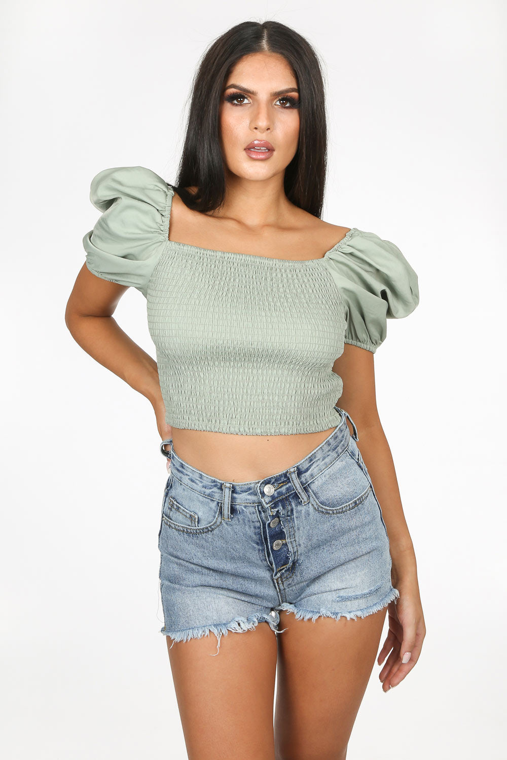 Tall Red Roll Neck Rib Knitted Crop Top | Missguided