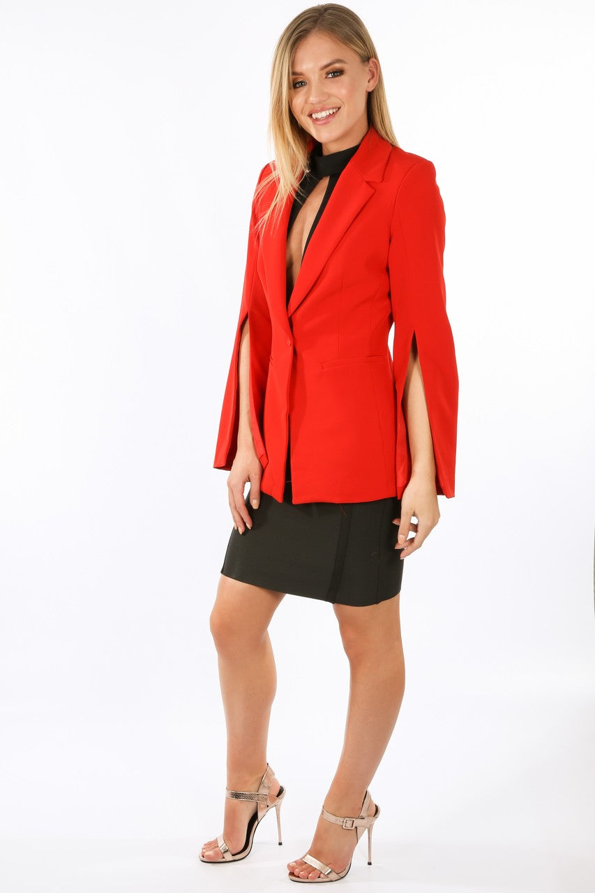 z/106/V1838-_Tailored_Blazer_with_Open_Sleeve_In_Red-3__39616.jpg