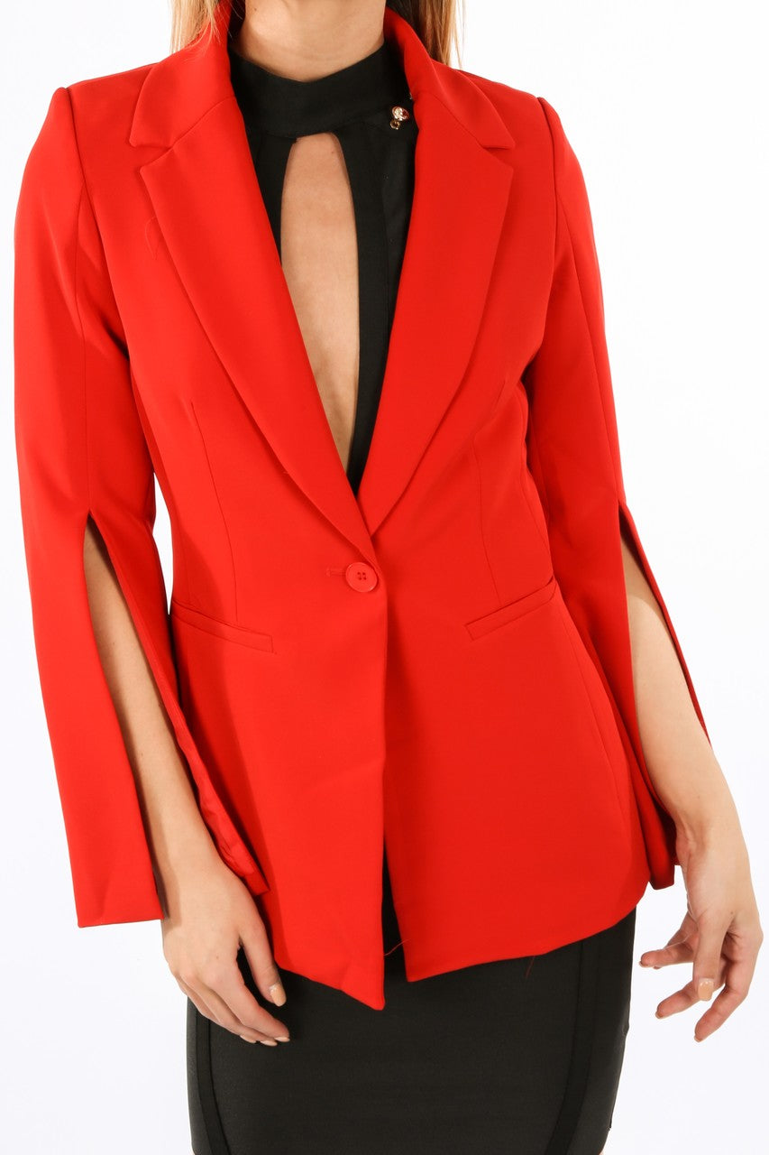 j/337/V1838-_Tailored_Blazer_with_Open_Sleeve_In_Red-7__36687.jpg