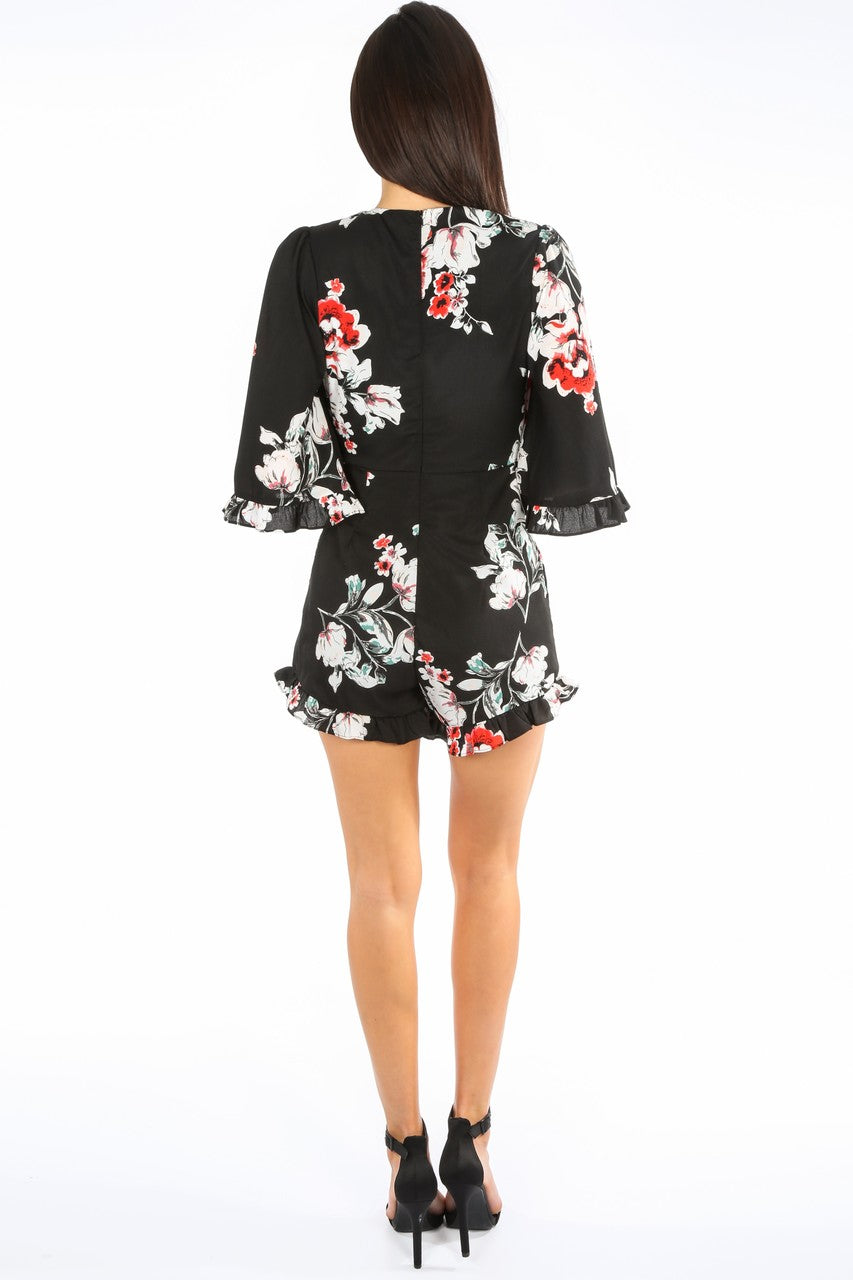 a/617/W1605-_Floral_V-neck_Playsuit_With_Frill_Hem_In_Black-3__70108.jpg