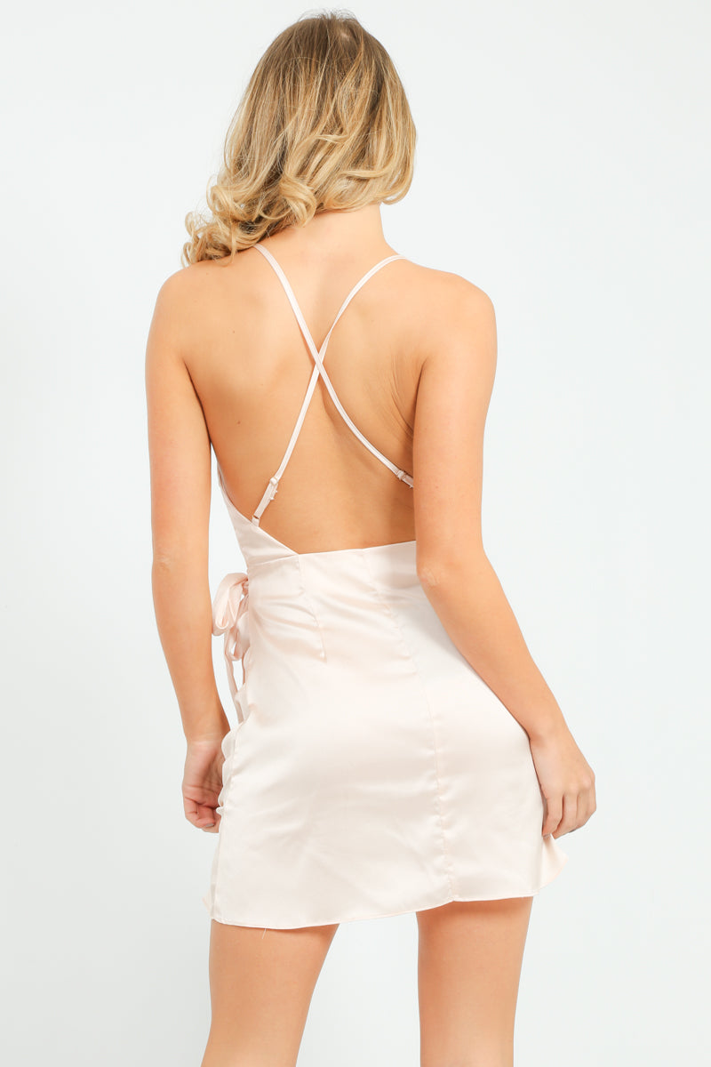 a/121/W2249-_Satin_Cross_Back_Mini_Wrap_Dress_In_Champagne-2__33196.jpg