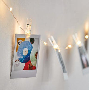 Toms Torr | LED Photo Clips String Lights Holder