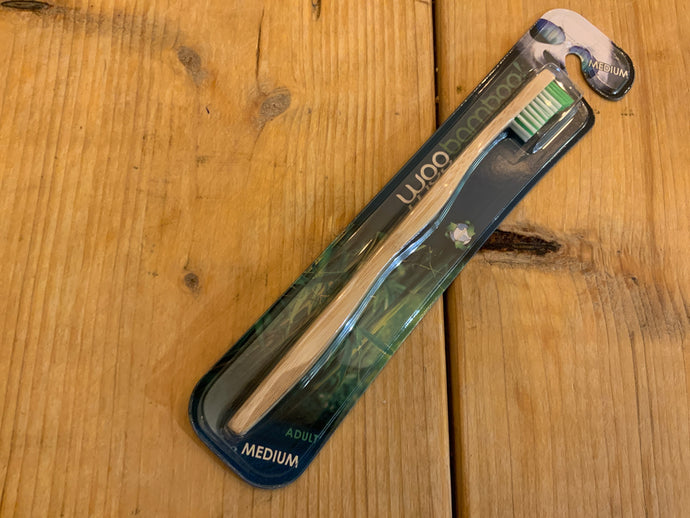 Toiletries - Woo bamboo adult toothbrush