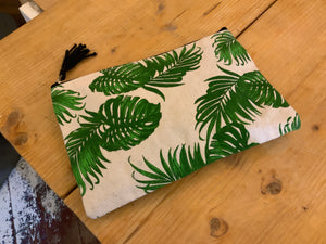 Toiletries - Cotton leaf toilet bag
