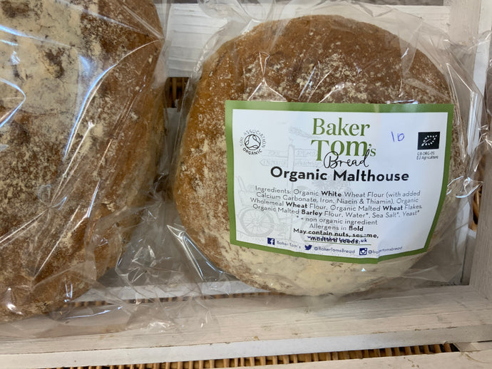 Baker Toms Bread: Malthouse Small Loaf