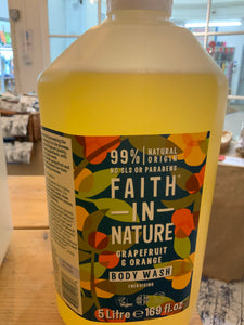 Toiletries - Faith In Nature Grapefruit & Orange Body Wash