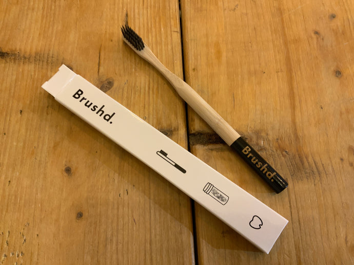 Toiletries - Brushd Recyclable Toothbrush Charcoal