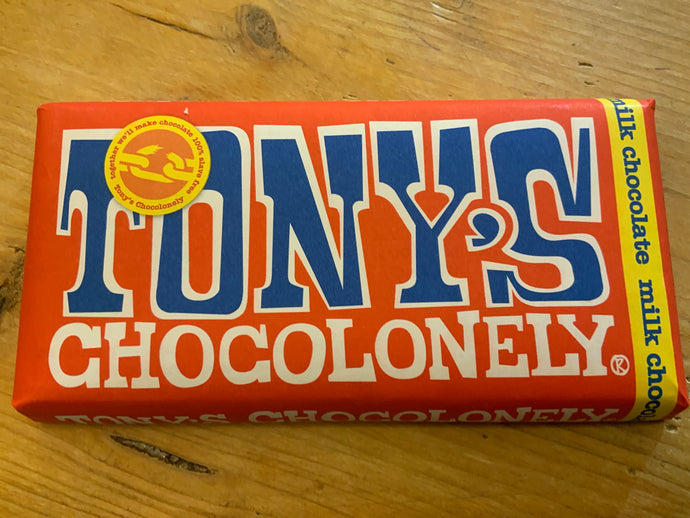 Snacks - Tony's Chocolonely Milk Chocolate 180g