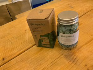 Toiletries - Georganics Mouthwash Tablets