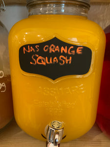 Squash - No Added Sugar Orange Squash