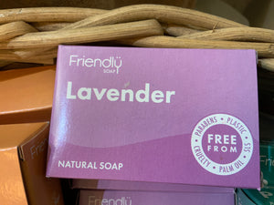 Toiletries - Friendly Lavender Natural Soap