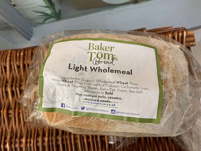 Baker Toms - Light Wholemeal Loaf Small