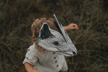 Load image into Gallery viewer, Monochrome Fox Headdress