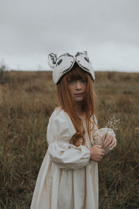 Monochrome Rabbit Headdress