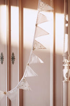 Afbeelding in Gallery-weergave laden, Glitter Stars Bunting in Powder