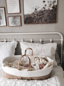 Organic Corn Maize Moses Basket