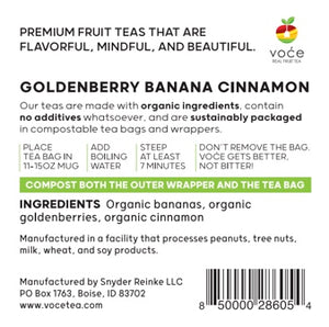 Goldenberry Banana Cinnamon
