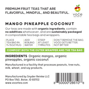 Mango Pineapple Coconut