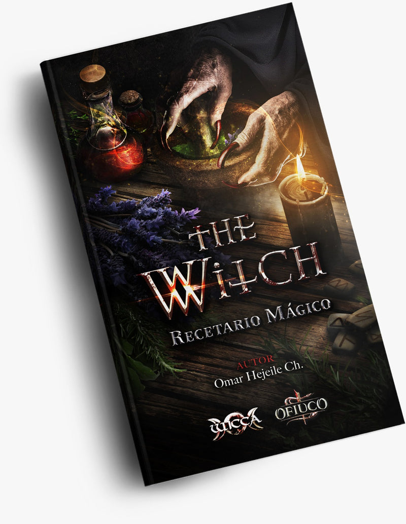 Libro Recetario Magico - The Witch