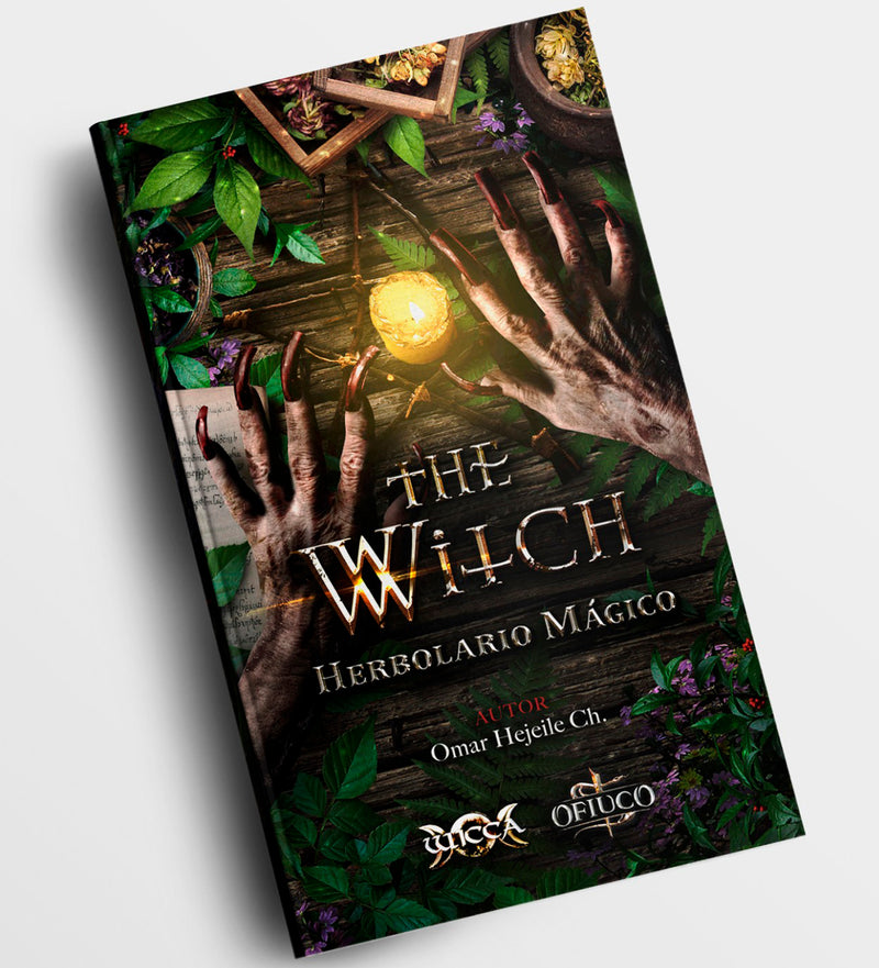 Libro Herbolario Mágico - The Witch