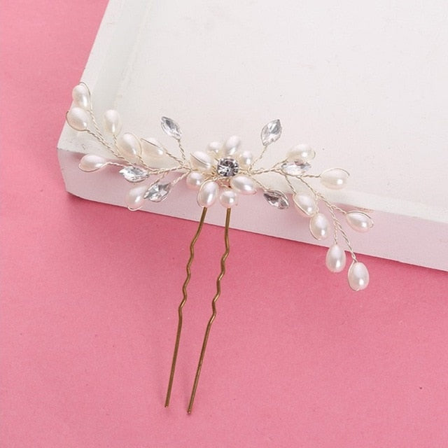 Rhinestone Hair Jewelry