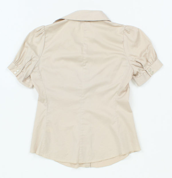 Banana Republic Short Sleeve Button-Up 2