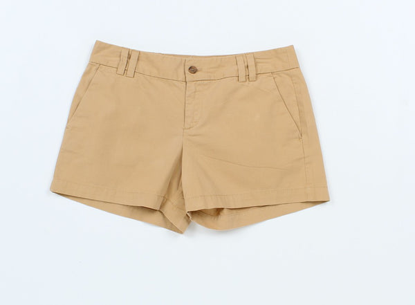 Ann Taylor Khaki Women Basic Shorts 2