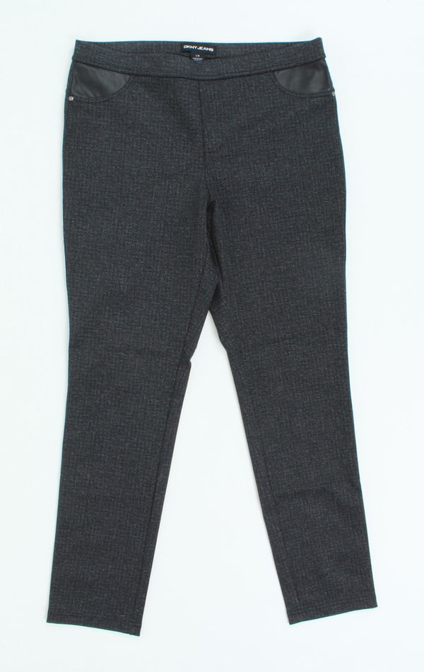 DKNY Women Jeggings Gray Size L
