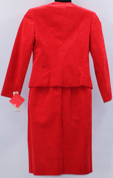 UltraSuede Women Skirt Suit 10 NWT
