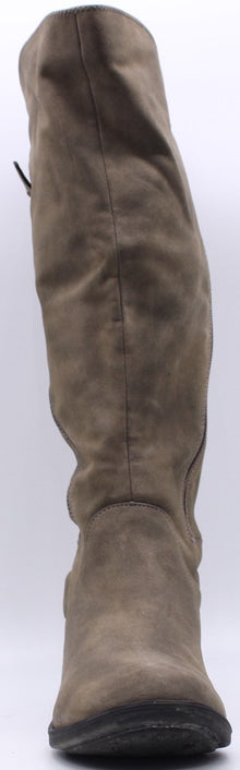 Women Suede Boots US 7.5