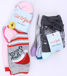 Cat & Jack Girls Socks S NWT