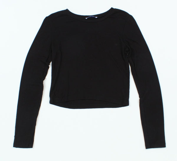 Zara Long Sleeve Crop S
