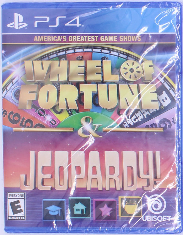 PS4 Wheel of Fortune Game (NIB)