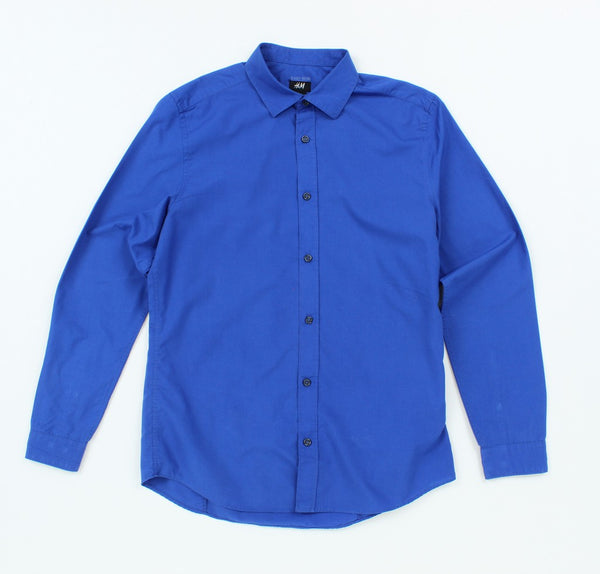 H&M Long Sleeve Button-Up M