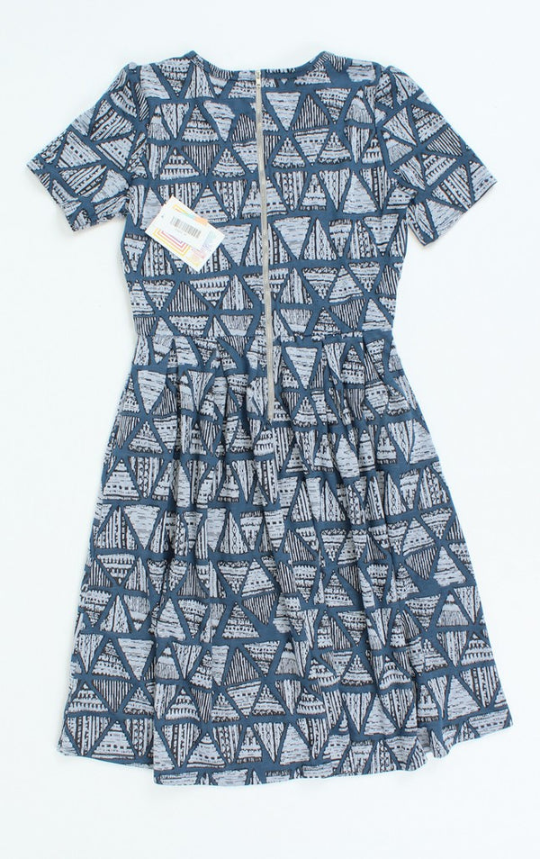 LuLaRoe Fit & Flare Knee Length Dress M NWT