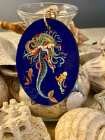 Load image into Gallery viewer, Boho Mermaid Keychain