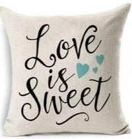 Love Is Sweet Pillow Cover