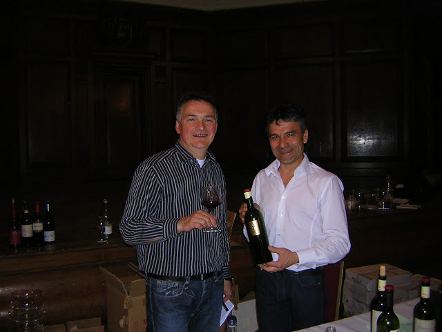 Pascal Rossignol with Pascal Verhaeghe owner - winemaker of Chateau du Cedre