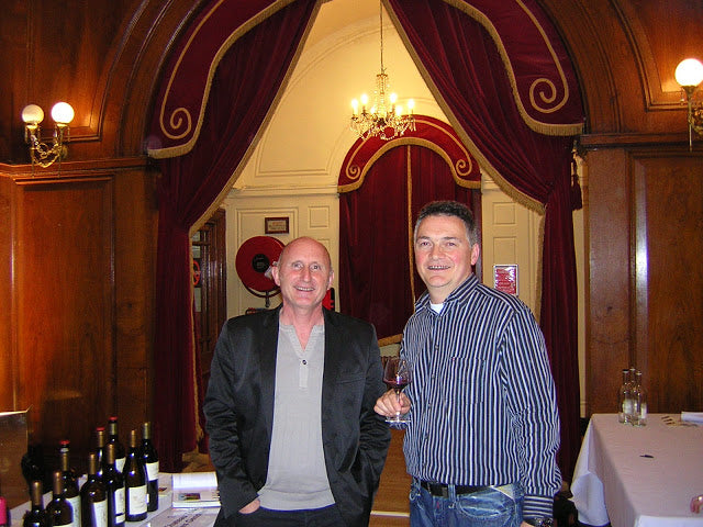 Luc de Conti, owner - winemaker of Tour des Gendres with Pascal Rossignol