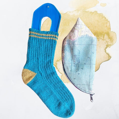 Back To School Socks (English pattern)
