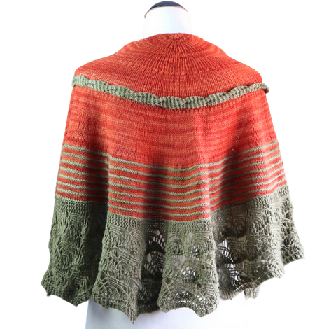 Zahara Paradise Shawl (English Pattern)