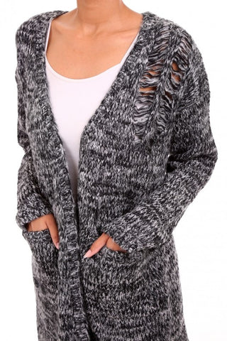 Salt and Pepper Cardigan