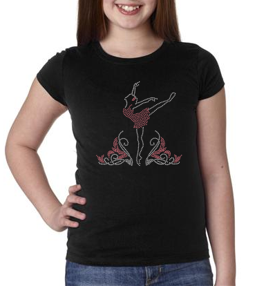 Bling Ballerina Kids T-shirt